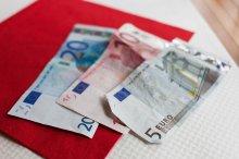 pieniądze w gotówce