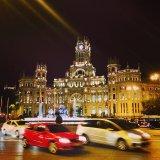 Madryt nocą