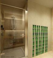 Prysznic z brodzikiem