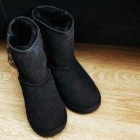 zamszowe buty na zimę